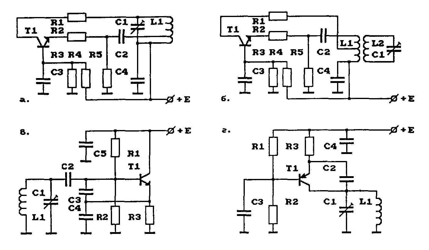 h схемы простых передатчиков