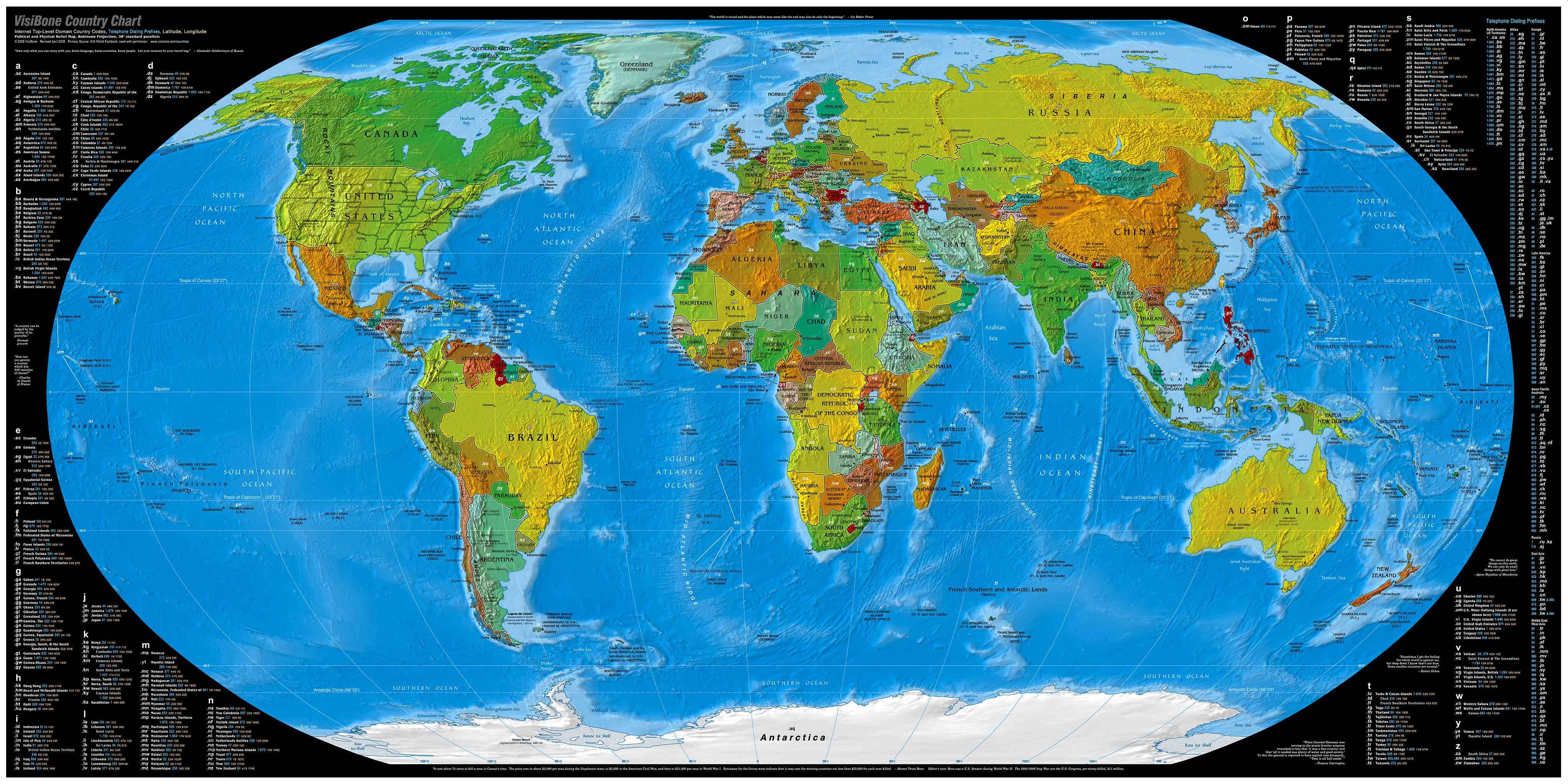 изображение земли на карте и глобусе