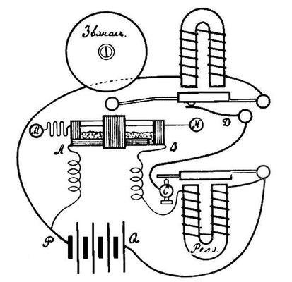 Рис. 1 - Схема радиоприёмника